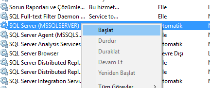 MS SQL Server Cannot Connect To ServerName Hatası - 4
