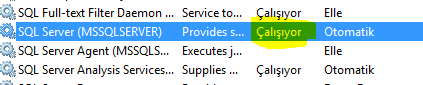 MS SQL Server Cannot Connect To ServerName Hatası - 6