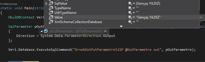 Entity Framework - Code First İle Stored Procedure Kullanımı