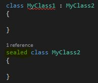 C#'ta sealed Keyword'ü