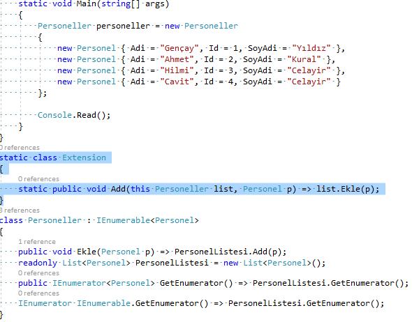 C# – Custom Collection Initializers Yapılarında Add Metodunu Extension Metod Yapısıyla Yönlendirme.PNG