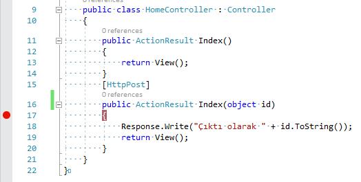 C#'ta WebClient Nesnesi İle Kodsal POST İşlemiyle Birlikte Gelen JSON Verilerini Elde Ederek İşleme