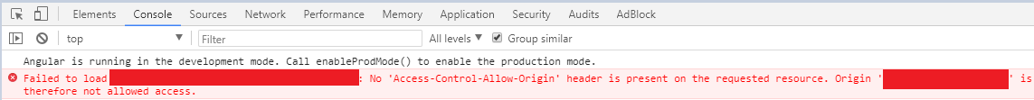 "Angular 4'de ""No 'Access-Control-Allow-Origin' Header Is Present On The Requested Resource. Origin 'XXX' Is Therefore Not Allowed Access"" Hatası ve Çözümü"