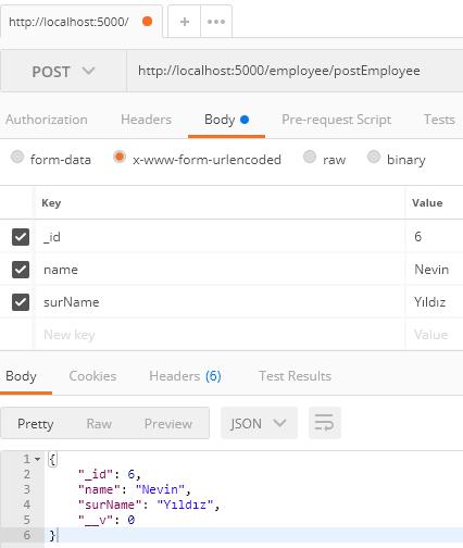 MongoDB - Global Promise Yapısı İle Kayıt İşlemi