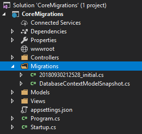 Asp.NET Core 2 MVC'de Migrations İle Veritabanı İşlemleri