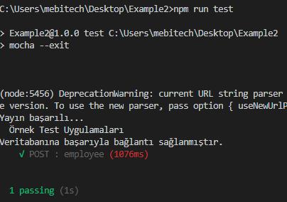 Node.js - Unit(Birim) Test Nedir Nasıl Yazılır.