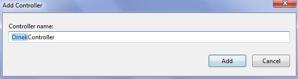 Asp.NET MVC 5 controller ekleme 3