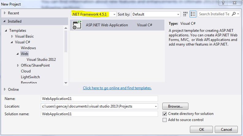 Asp.NET MVC 5