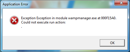 Exception-in-module-wampmanager-exe-at-000F15A0-steptoinstall-