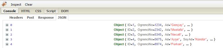 Asp.NET MVC - Ajax İle Post İşlemleri ve JsonResult Kullanımı - 4