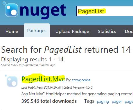 Asp.NET MVC'de PagedList Kullanarak Verileri Sayfalama