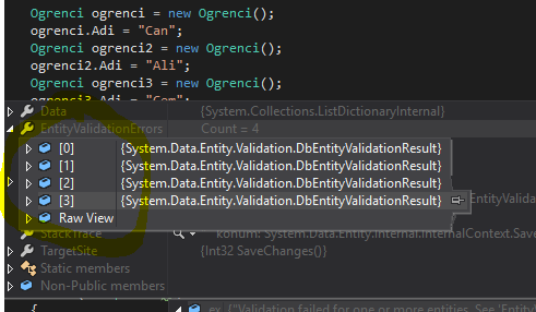 Entity Framework - Code First'te IValidatableObject İle Kolonlara Validasyon Ayarlama