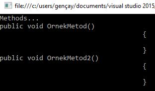 Roslyn Syntax Tree API'sine Göz Atalım
