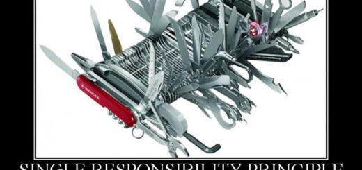 Tek Sorumluluk Prensibi(Single Responsibility Principle - SRP)