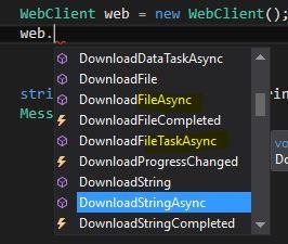 C#'ta async - await İkilisiyle ASenkron İşlemler