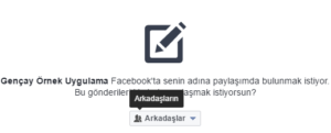 Asp.NET MVC İle Facebook'a Post Etme