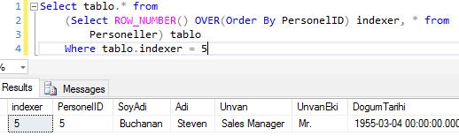 T-SQL - Select Sorgusunda İstenilen Sıradaki Satırı Elde Etme.PNG