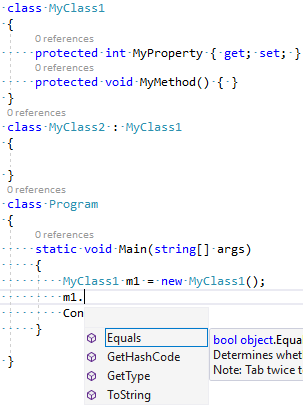 C# 7.2 - Private Protected Access Modifier
