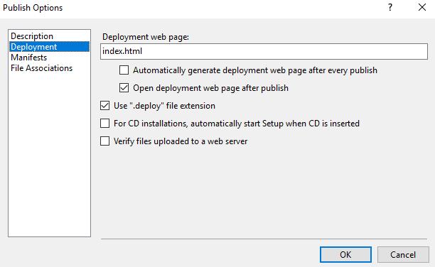 C#'ta ClickOnce Deployment İle Uygulamaya Güncelleme Desteği2