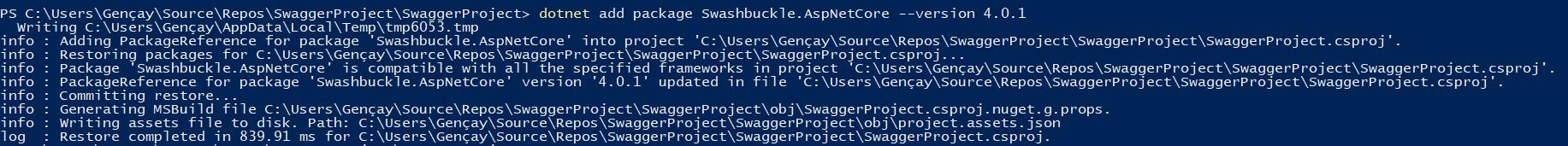 Asp.NET Core - Swagger Aracı