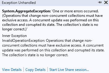 Thread Safe - ConcurrentQueue, ConcurrentDictionary, ConcurrentBag ve ConcurrentStack Koleksiyonları ve Kullanım Durumları