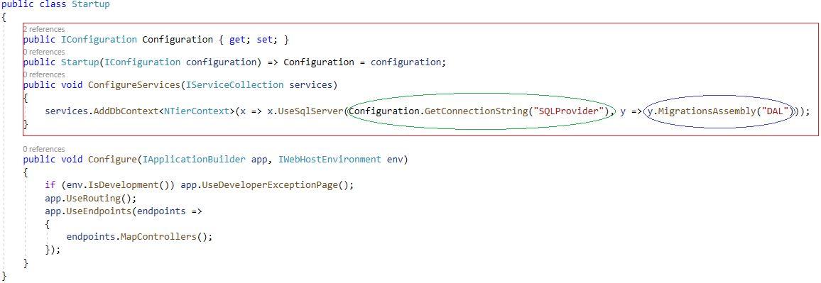 Asp.NET Core 3.0 - Çok Katmanlı Mimaride Migration İşlemleri