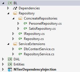 Asp.NET Core - Çok Katmanlı Mimaride İstenilen Katmanda Dependency Injection Kullanımı