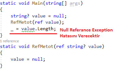 C# 8.0 - Nullable Reference Types