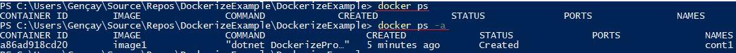.NET Core Uygulamasını Dockerize Etmek – Docker Container Nasıl Oluşturulur?