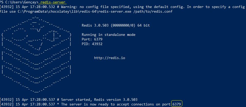 Redis Yazı Serisi 7 - Chocolatey İle Windows'a Redis Kurulumu