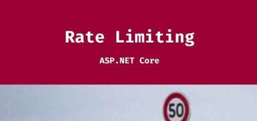 Asp.NET Core - Rate Limit İle API Güvencesi Sağlama