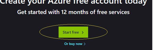 Azure Storage Serisi #2 – Azure Account Nasıl Oluşturulur