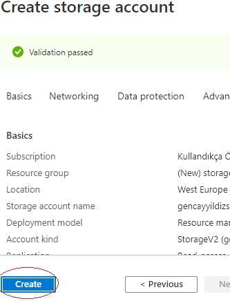 Azure Storage Serisi #2 – Azure Storage Account'u Nasıl Oluşturulur