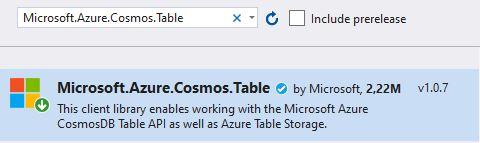 Azure Storage Serisi #6 - Azure Table Storage ve Asp.NET Core İle Kullanımı