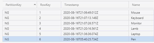 Azure Functions Serisi #14 - Return Table Storage