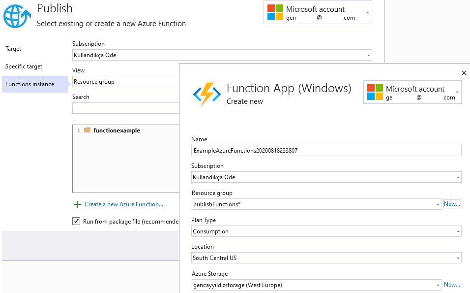 Azure Functions Serisi #15 - Azure Portal'a Publish