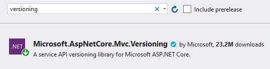 Asp.NET Core - API Versiyonlama