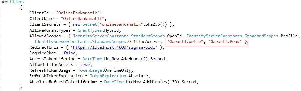 IdentityServer4 Yazı Serisi #13 – Merkezi Üyelik Sistemi – Access Token İle API'lerle Haberleşme