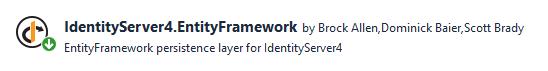 IdentityServer4 Yazı Serisi #23 - IdentityServer4 EntityFramework İle Konfigürasyon Ayarlarını Veritabanına Taşıma