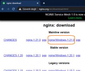 Docker + Nginx Sunucusu İle Load Balancing Operasyonu