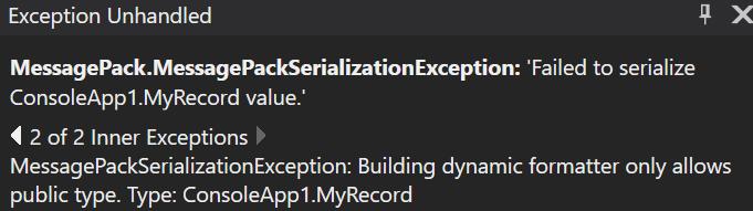 .NET Core'da MessagePack İle Binary Serialization